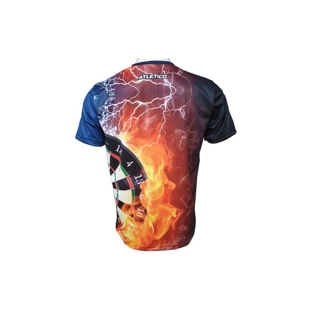Tričko šípkarske Oheň Voda chrbát