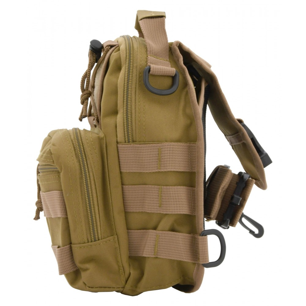 Batoh na rameno 10l ARMY bok