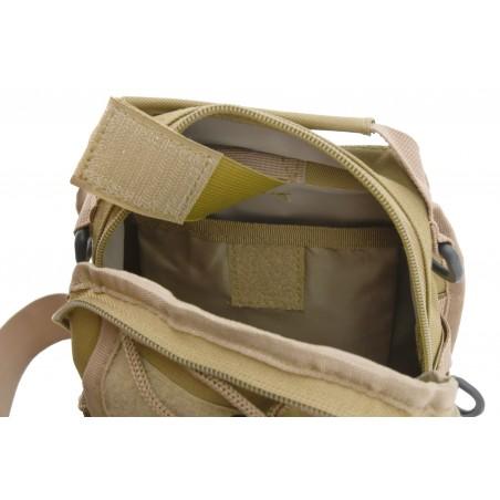Batoh na rameno 10l ARMY otvorené hlavné vrecko