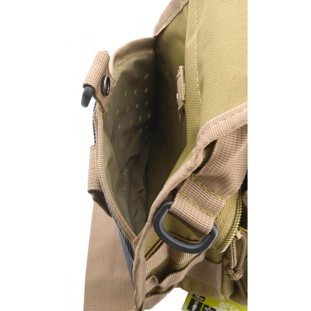 Batoh na rameno 10l ARMY postranné vrecko