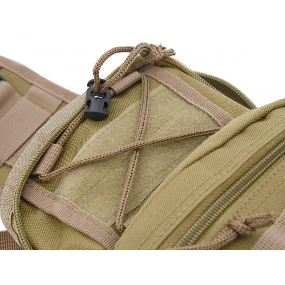 Batoh na rameno 10l ARMY detail