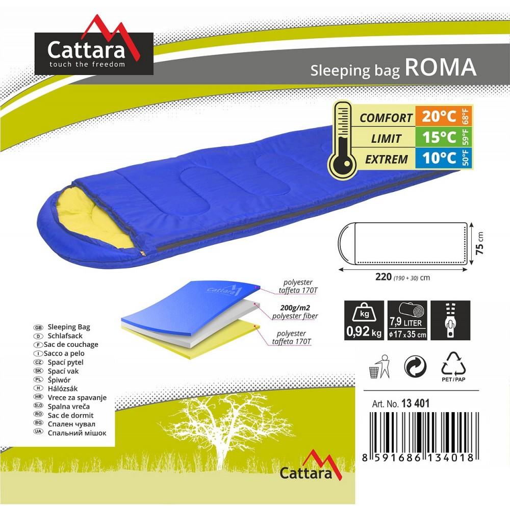 Spací vak dekový ROMA  popis