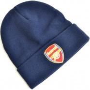Zimná čiapka Arsenal FC modrá s lemom