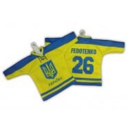 Hokejový minidres Ukrajina