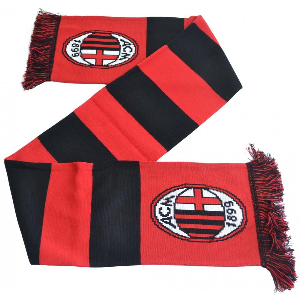 Šál AC Miláno pruhovaný