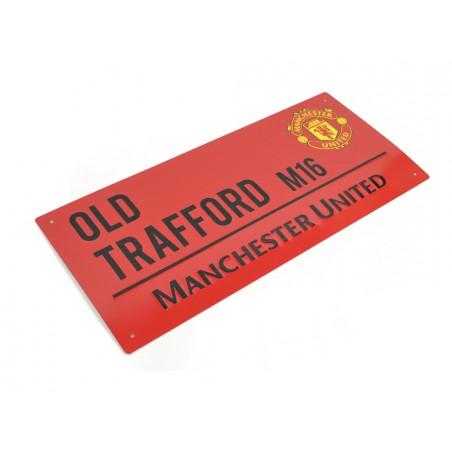 Plechová ceduľa Manchester United veľká