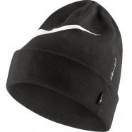 Zimní čepice Nike Swoosh Cuffed černá