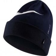 Zimní čepice Nike Swoosh Cuffed modrá