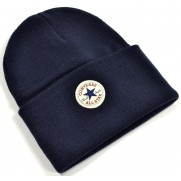 Zimná čiapka Converse Tall Cuff modrá