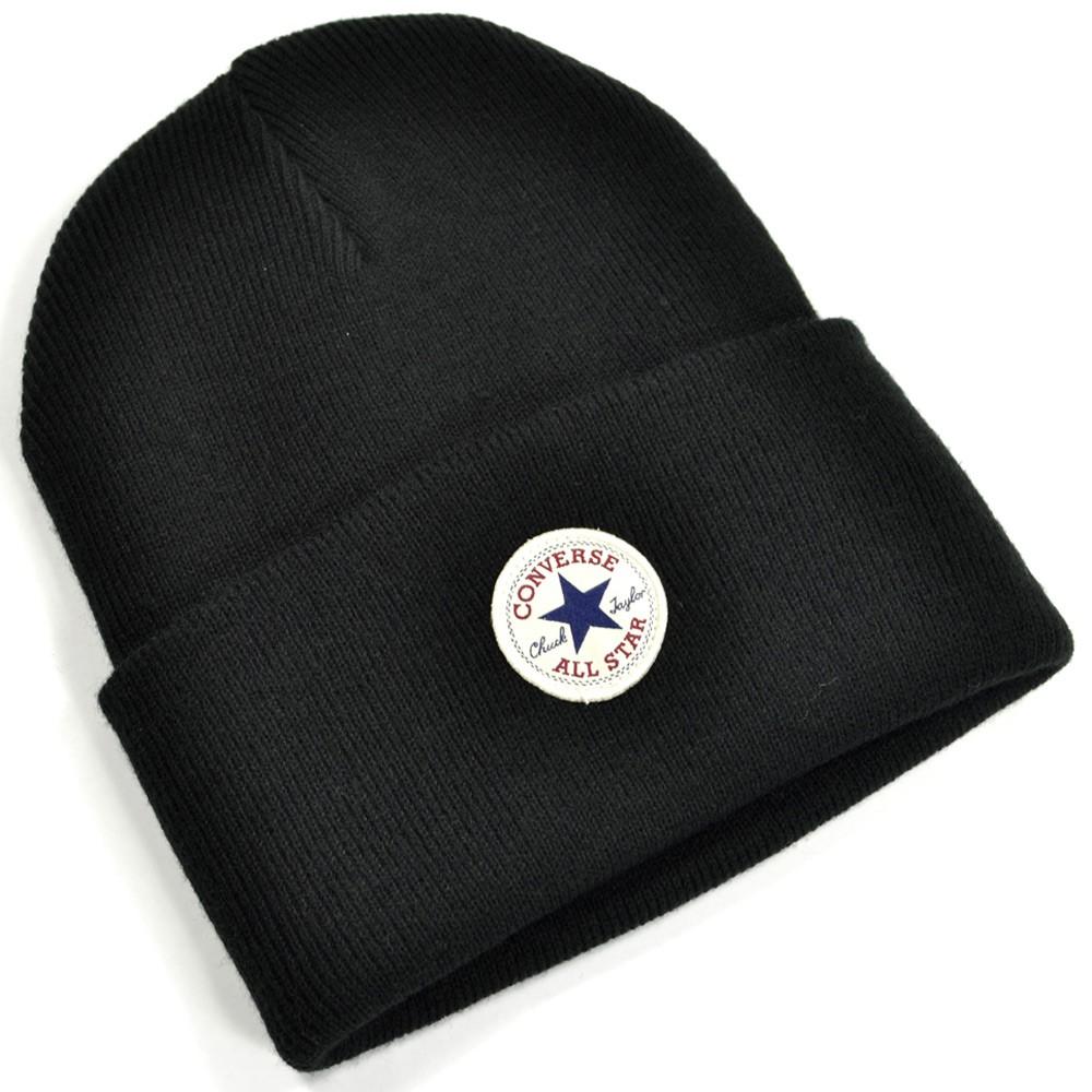 Zimná čiapka Converse Tall Cuff čierna