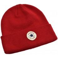 Zimní čepice Converse Tall Cuff červená