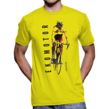 Tričko Ekomotor žlté