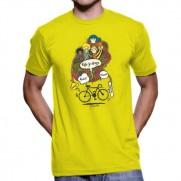 Tričko Kolo je droga žluté