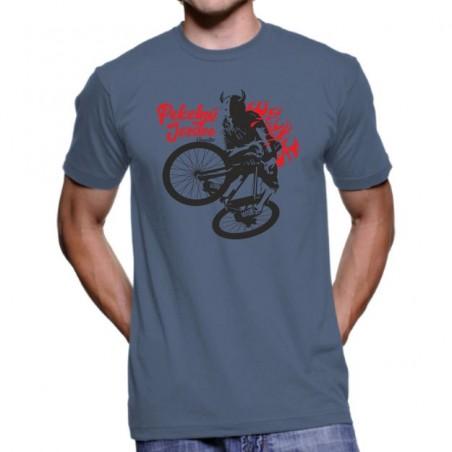 Tričko Pekelný jezdec modré