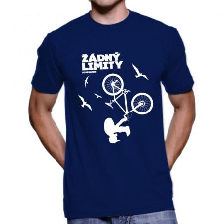 Tričko Žádný limity modré