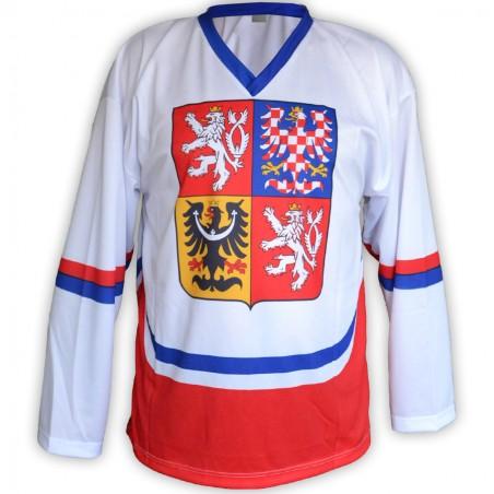 Hokejový dres ČR - bílý