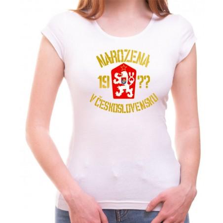 Narodená v Československu biele