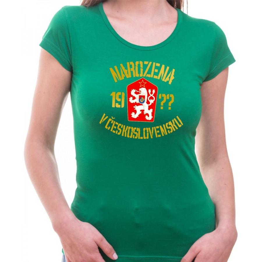 Narodená v Československu zelené
