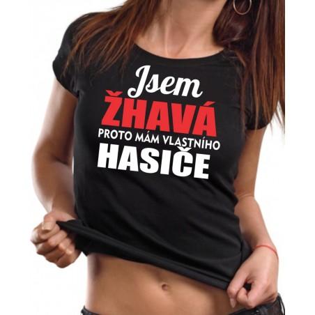 Tričko Mám hasiča, dámske