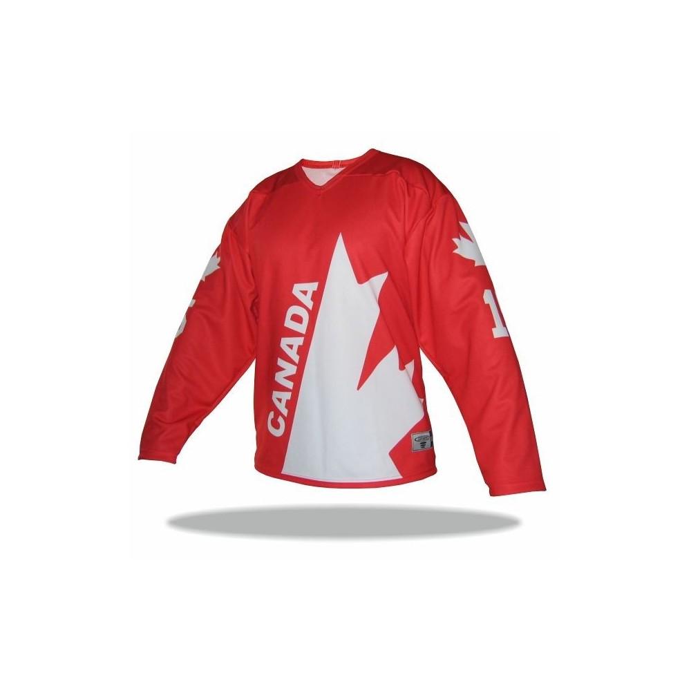 RETRO dres Kanada 1976 červený