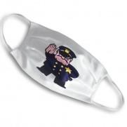 Designová rouška s potiskem - policajt