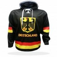 Mikina Německo černá