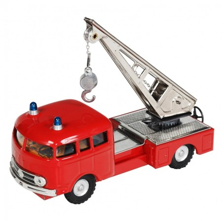 Mercedes MB 335 hasič - žeriav