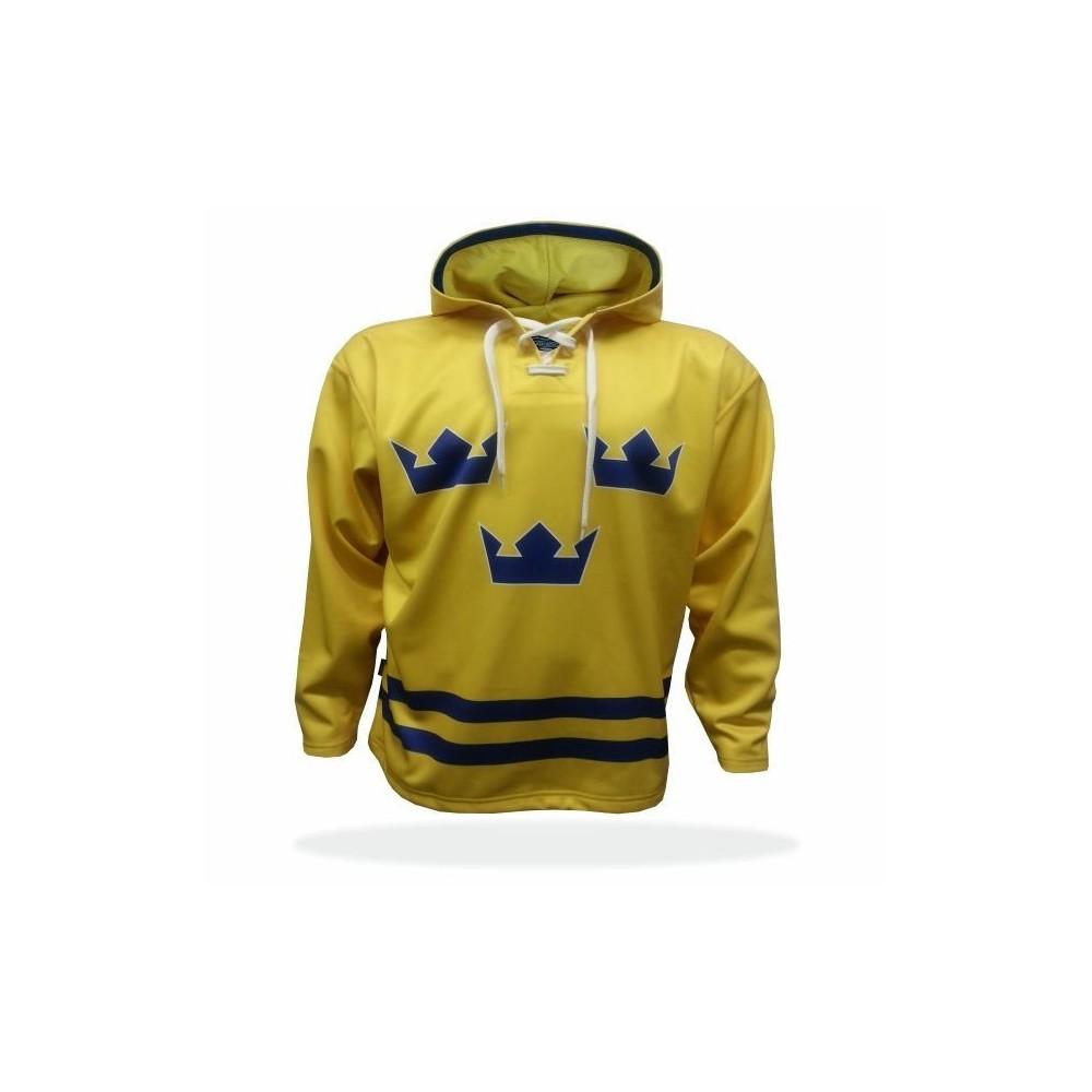 Mikina Švédsko žlutá