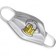 Designová rouška s potiskem - Pivo