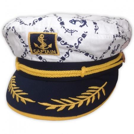 Detská námornícka čiapka Kapitán