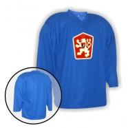 Hokejový tréninkový dres se znakem ČSSR modrý