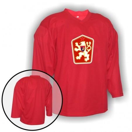 Hokejový dres Camp so znakom ČSSR červený