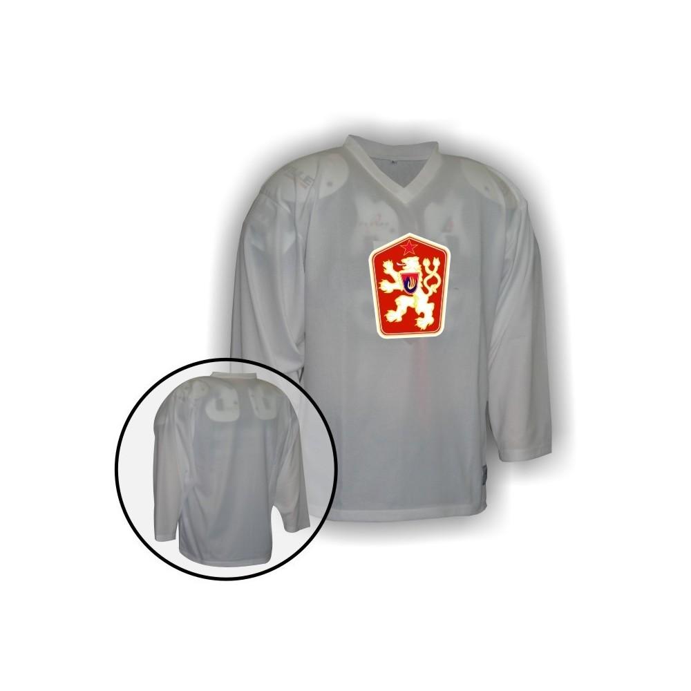 Hokejový dres Camp so znakom ČSSR biely