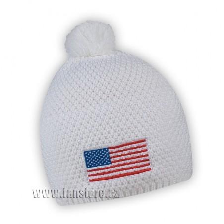 Zimní čepice USA
