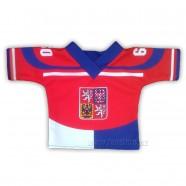Hokejový dres ma plyšáka Česká republika