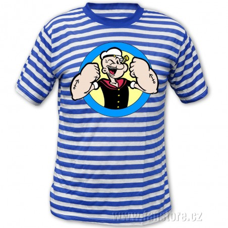 Dětské námořnické tričko Pepek námořník