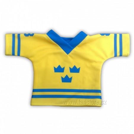 Dres na maskota Švédsko žlutý