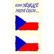 Tetovacie obtlačky Česko 802B