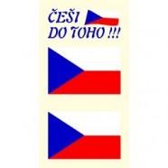 Tetovacie obtlačky Česko 804B