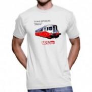 Tričko Lokomotiva M260.001 Stříbrný šíp