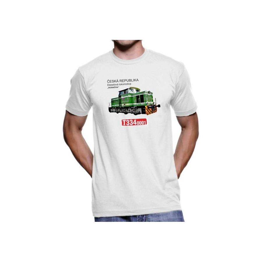 Tričko Lokomotiva T334.0001 Rosnička