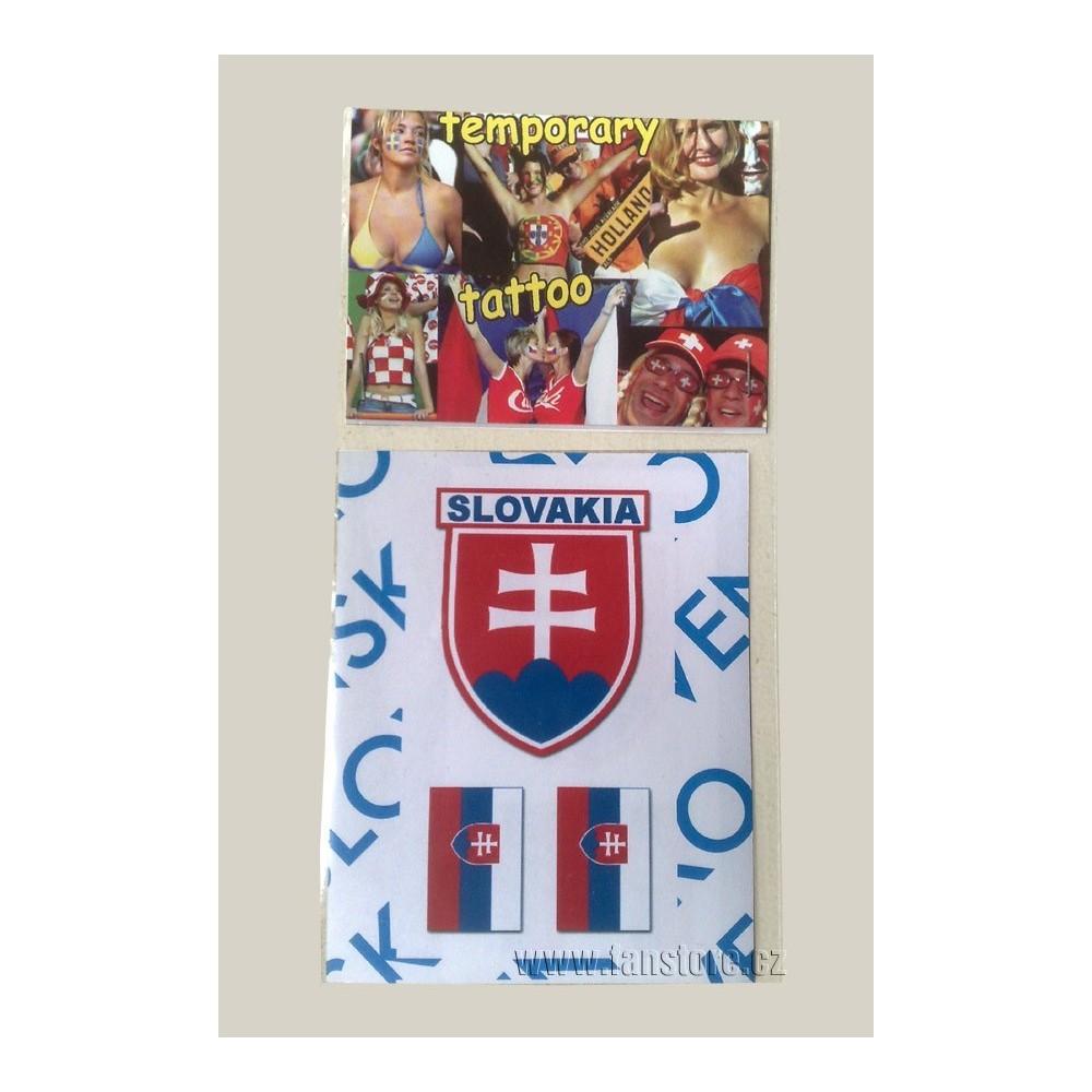 Tetovacie obtlačky Slovensko 104B v blistre