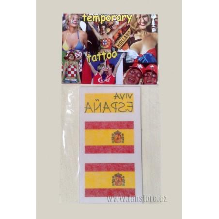 Tetovacie obtlačky Španielsko v blistre