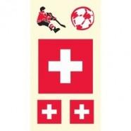 Tetovací obtisky Švýcarsko