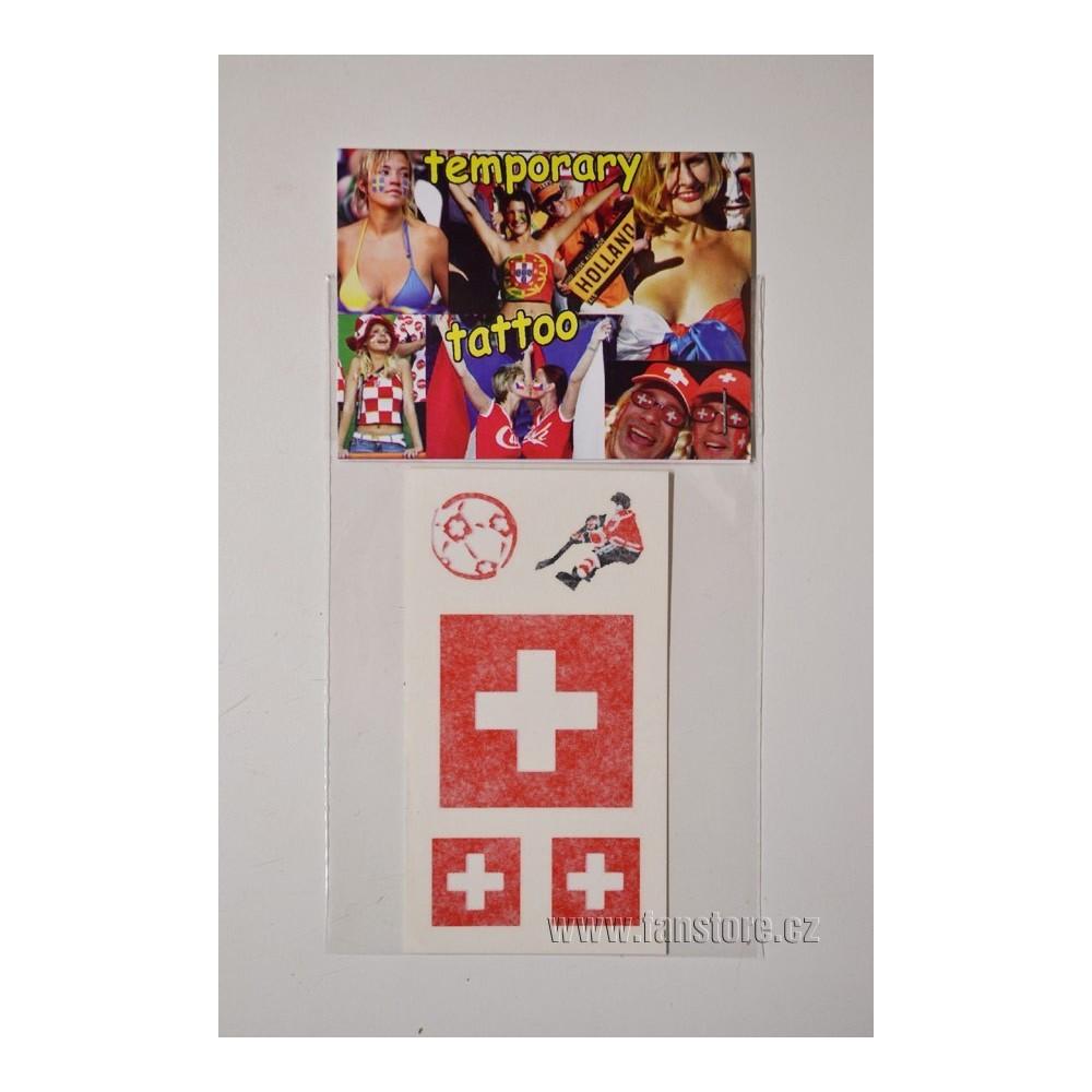 Tetovacie obtlačky Švajčiarsko v blistre