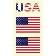 Tetovací obtisky USA vzor A