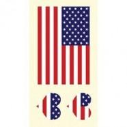 Tetovací obtisky USA vzor C