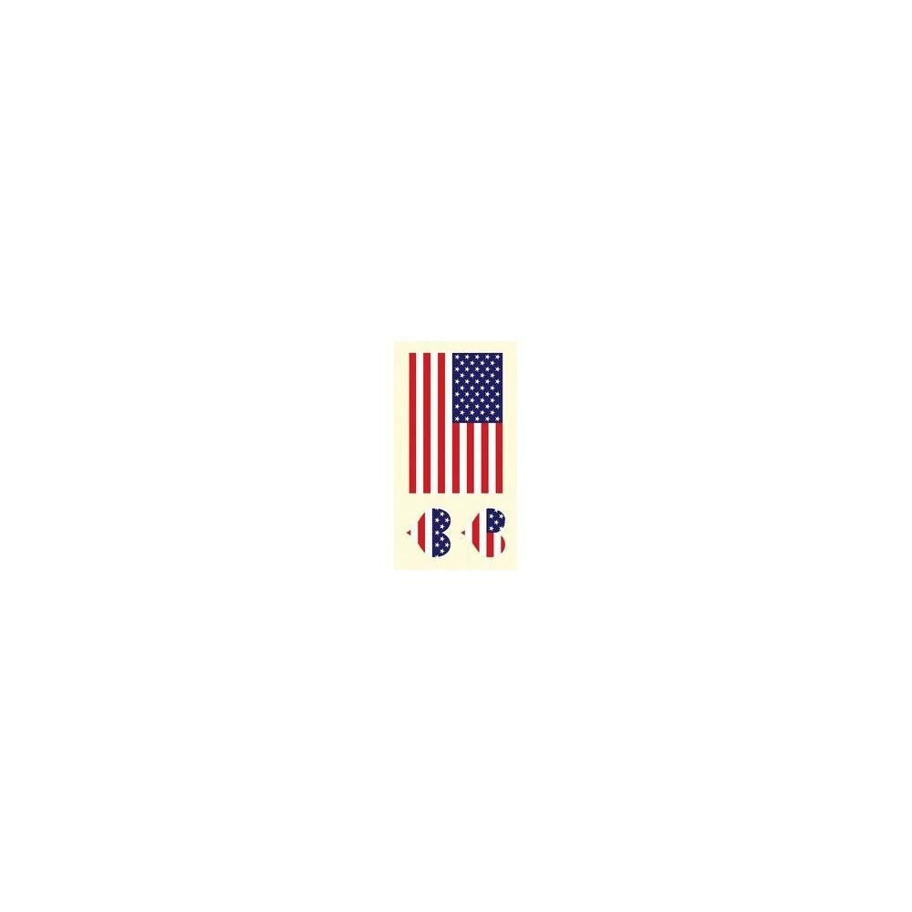 Tetovací obtisky USA, motiv C