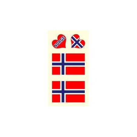 Tetovacie obtlačky Nórsko