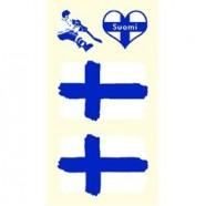 Tetovací obtisky Finsko vzor A